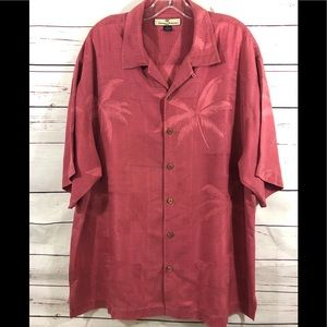 {TOMMY BAHAMA} - SHORT SLEEVE BUTTON UP SHIRT